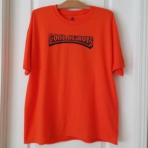 Dukes of Hazzard 'Good ol' boys' orange t-shirt